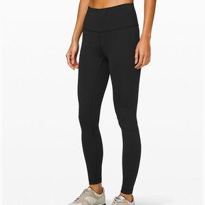 lululemon black high waisted leggings